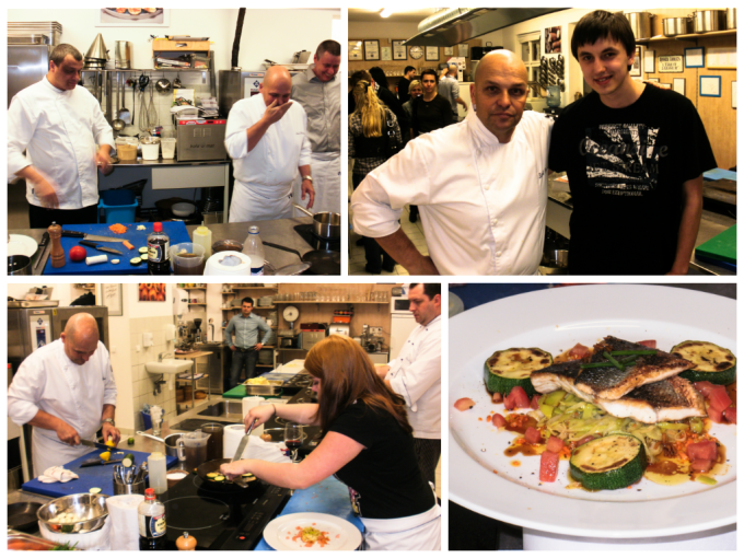 Cooking Course with Zdenek Pohlreich - Collage
