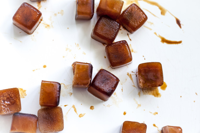 Frozen Coffee Cubes