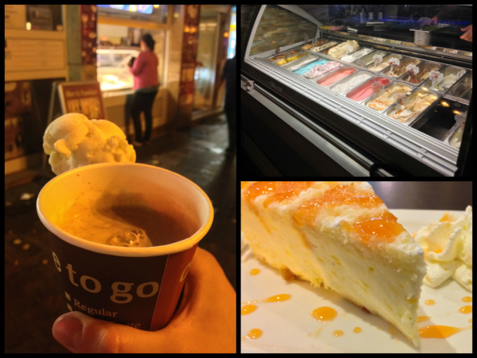 Eiscafé Cornetto Cacao Cheesecake Ice cream