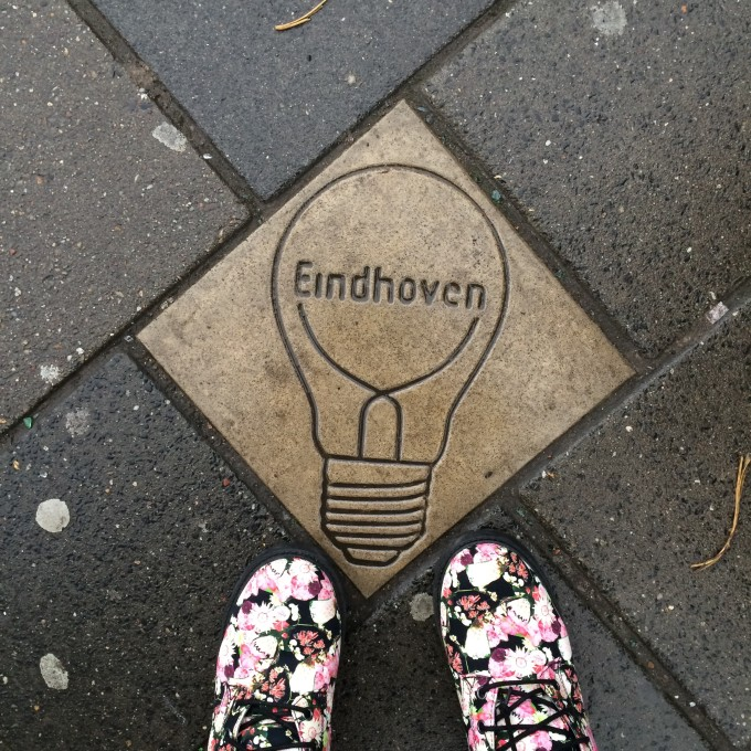 Eindhoven The Netherland light bulb floral boots