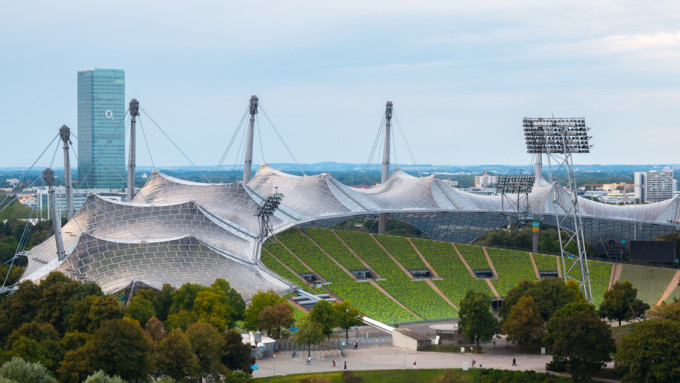 olympic stadion olympiapark munich münchen muenchen football stadion